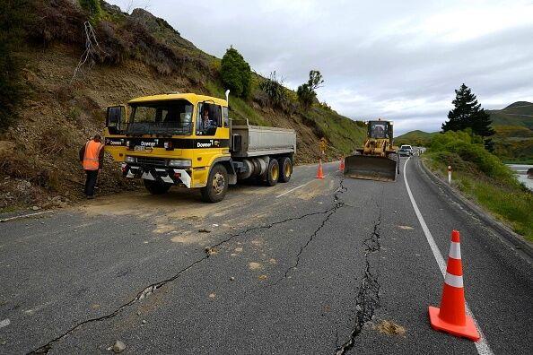 В Новой Зеландии из-за землетрясений прорвало дамбу