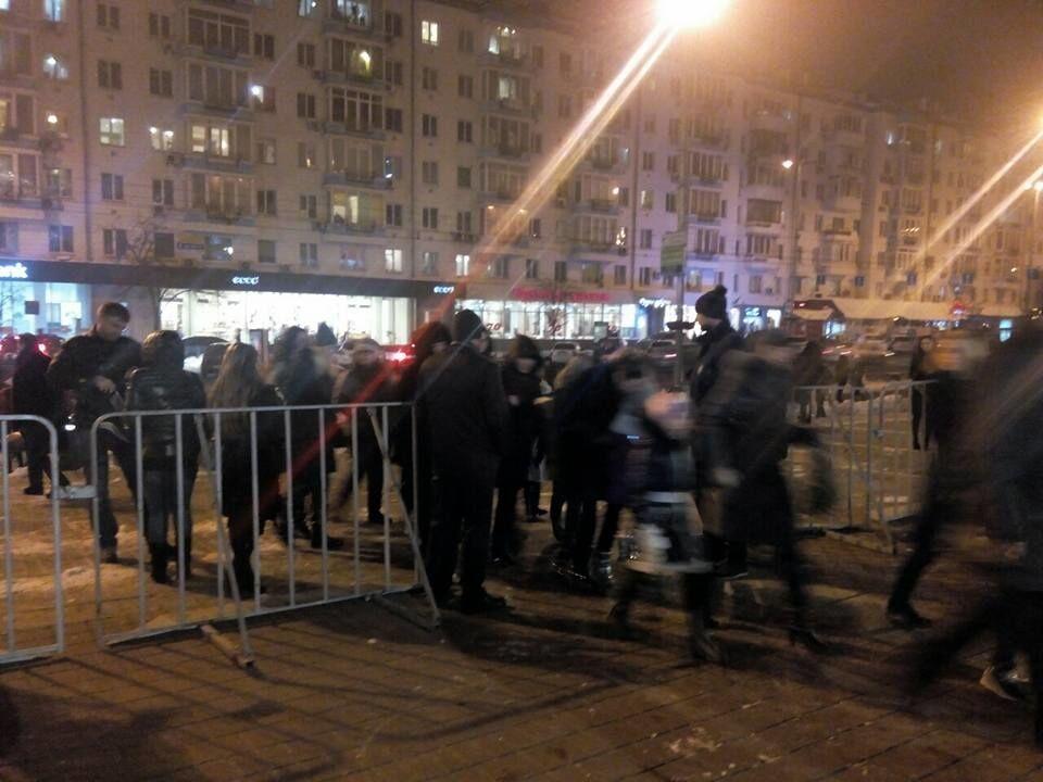Зрив концерту Потапа і Насті в Києві: поліція повідомила про затриманих