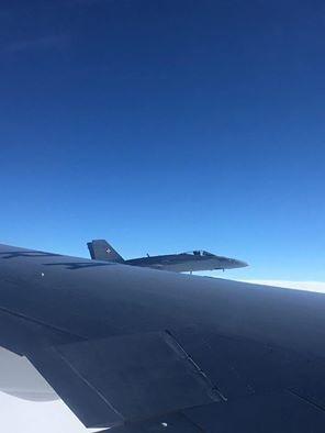 """""""Это беспрецедентно"""": швейцарские истребители сопровождали самолет с делегацией РФ"""