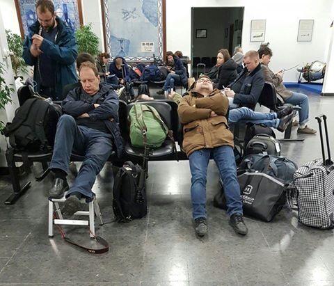 Самолет с делегацией РФ, который сопровождали истребители Швейцарии, сломался в Лиссабоне