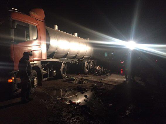 ДТП на Николаевщине: из-за столкновения с автоцистерной погибли военные
