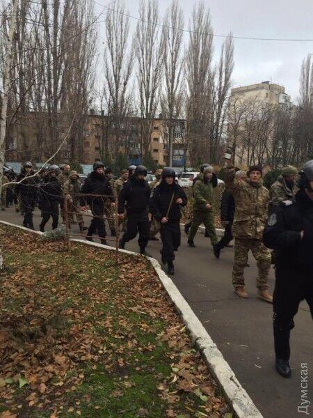 Погром на Одесской таможне: неизвестные разнесли кабинет Марушевской