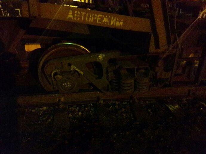 На Львівщині потяг зійшов із рейок, зупинивши трасу Київ-Чоп