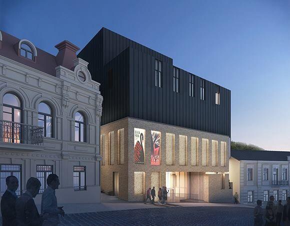Скандальный фасад на Андреевском спуске: архитектор показал, каким будет театр