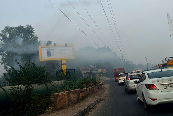 Дели накрыл сильнейший смог: власти закрывают все школы