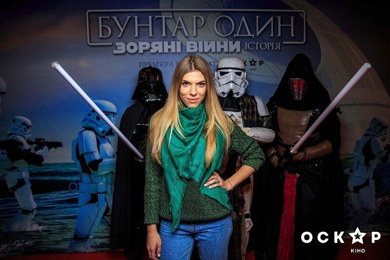 """Джамала с женихом, Ступка и актеры """"Квартала 95"""" первыми увидели новые """"Звездные войны"""""""