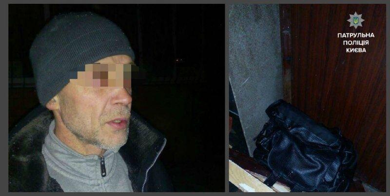 В Киеве грабитель едва не задушил прохожую