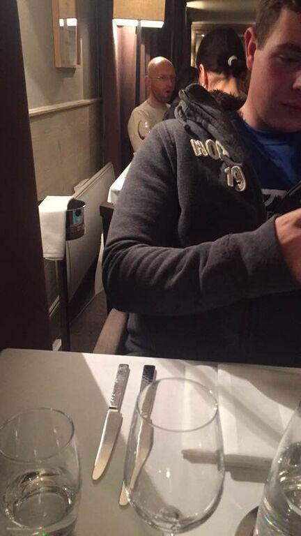 На конспиративной встрече с интуристами: во Франции засняли человека, похожего на Яценюка