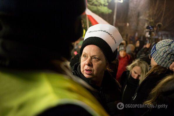 Глава МВД Польши обвинил оппозицию в попытке захвата власти