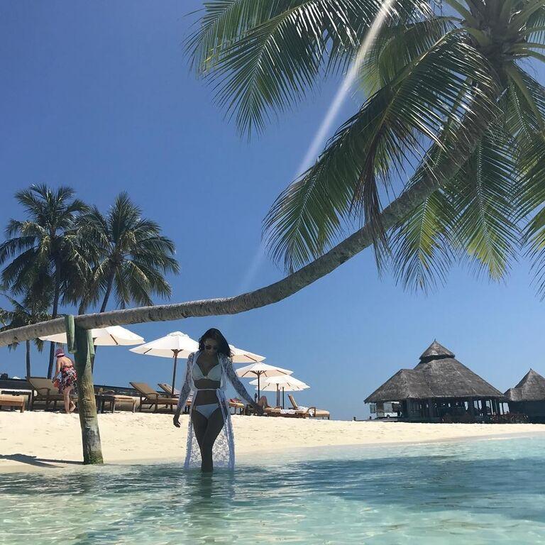 Ярмоленко показав, чим займається з дружиною на Мальдівах