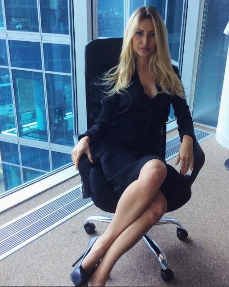 Пишногруда блондинка з України визнана найсексуальнішим футбольним агентом у світі