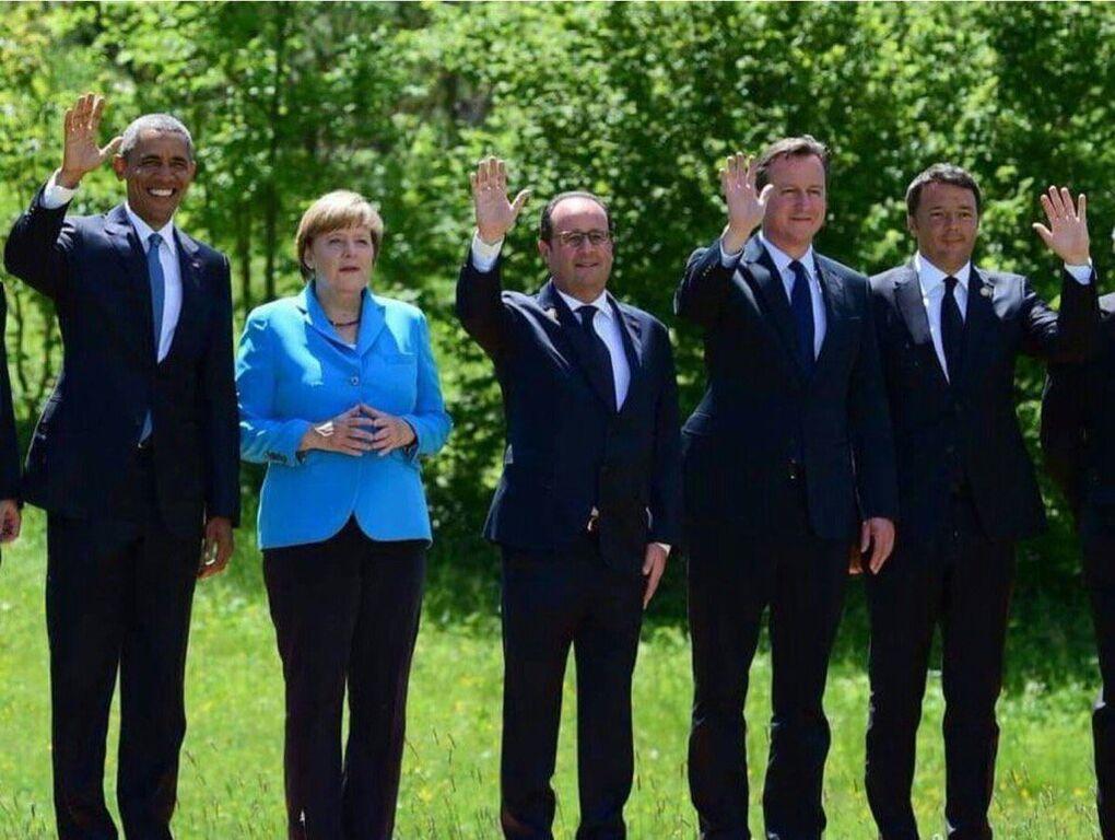 Западные лидеры exit: в сети показали знаковое фото