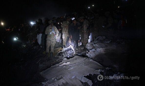 Назвали офіційну версію аварії літака в Пакистані
