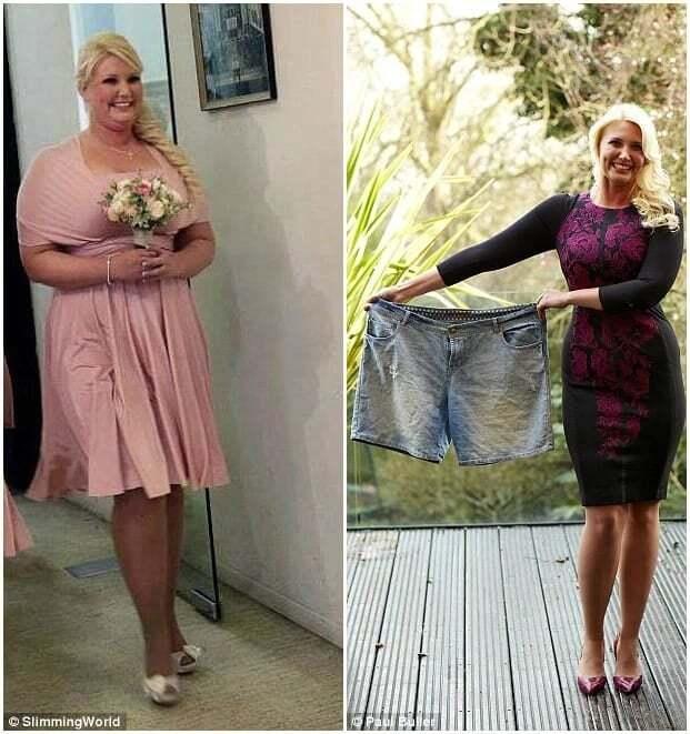 Как похудели женщины 40