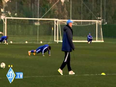 Луческу провел тренировку в стиле Блохина: забавное видео