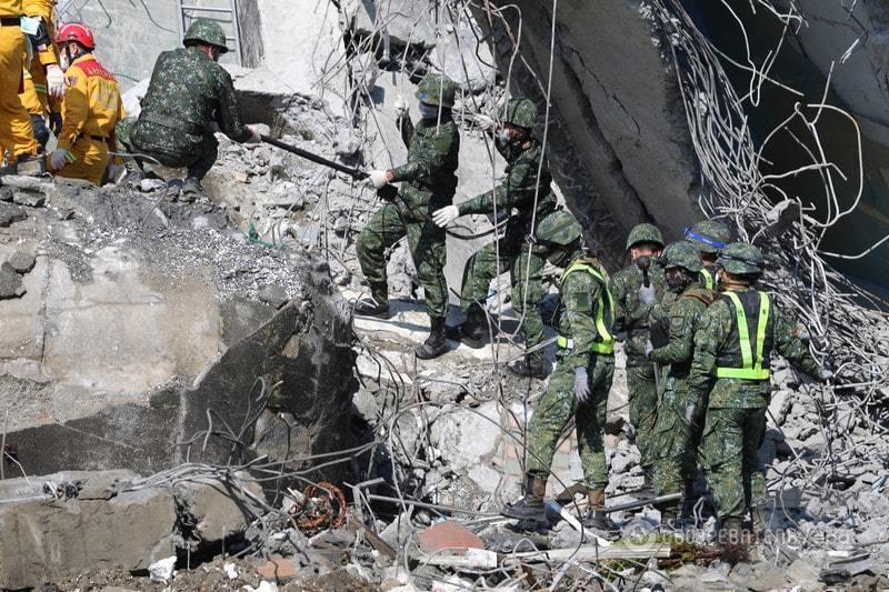 Жертв землетрусу на Тайвані вже 87 осіб