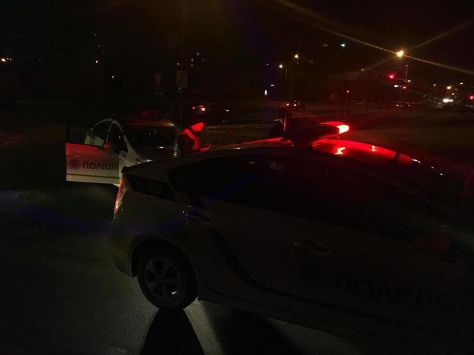 Київська поліція знову влаштувала нічну погоню за п'яним водієм