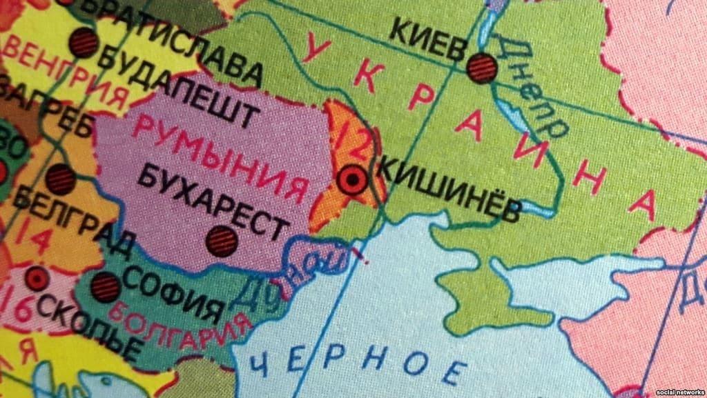 Чий Крим? ЗМІ показали, як позначений півострів на картах сусідів України