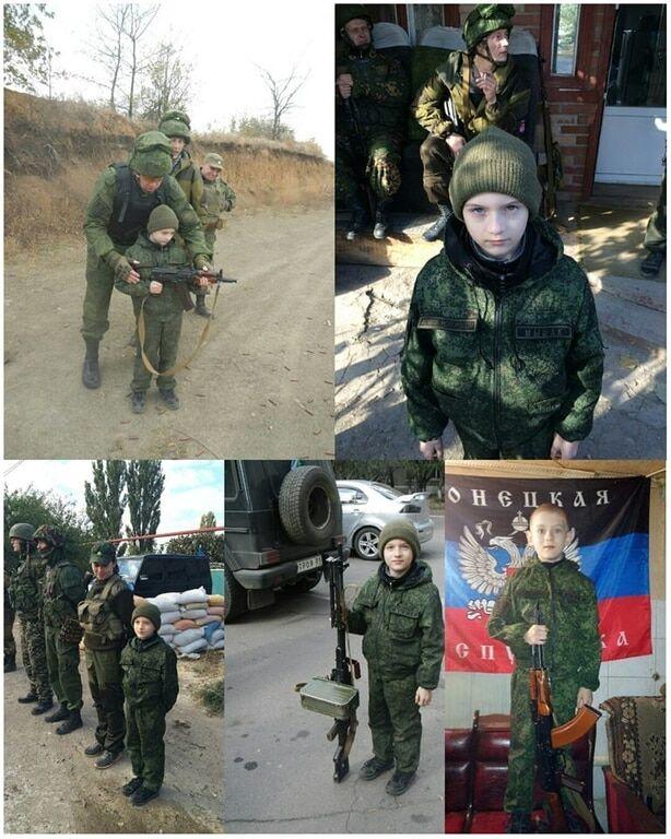 """""""Сафарі"""": москвичі привезли на Донбас дитину, щоб """"постріляти"""". Опубліковані фото"""