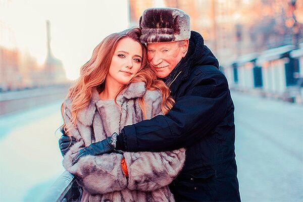 25-летняя жена 85-летнего Краско рассказала о ссорах с мужем
