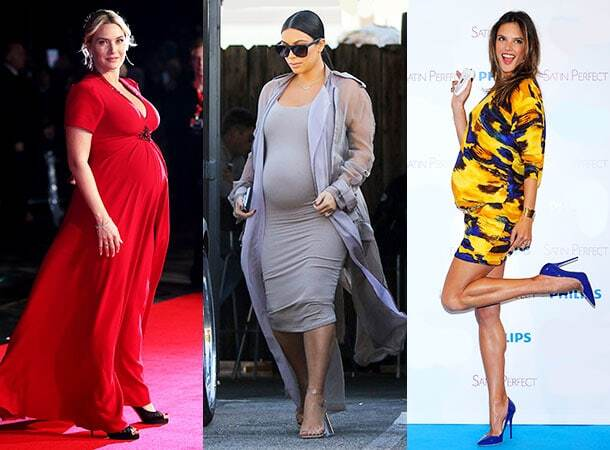 Краса понад усе: топ-10 вагітних зірок на підборах