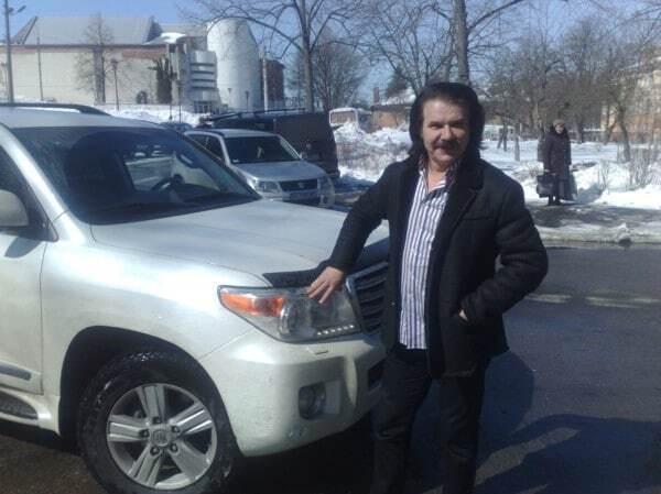 В Киеве обчистили автомобиль Павла Зиброва