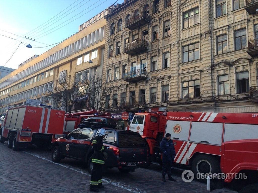 НП у центрі Києва: з-під завалів витягнули п'ятьох постраждалих