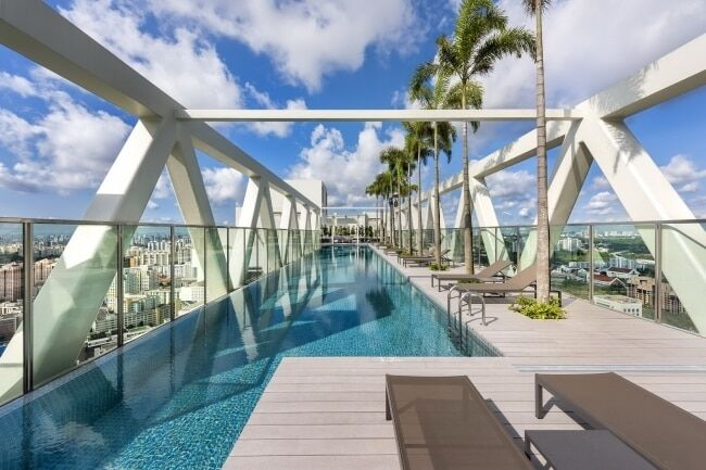 Сади Семіраміди по-новому: у Сінгапурі побудували плоский будинок-терасу