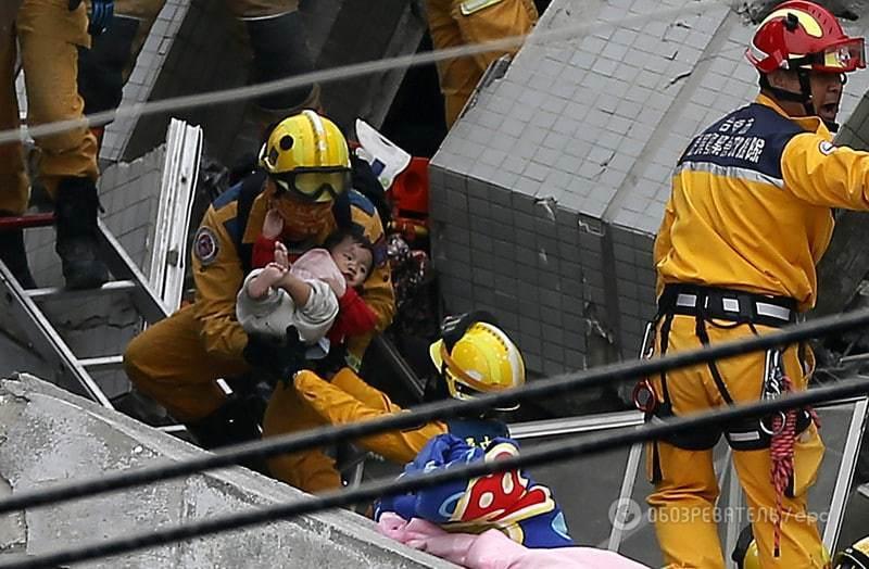 Землетрус на Тайвані: подробиці, фото і відео руйнівної НП