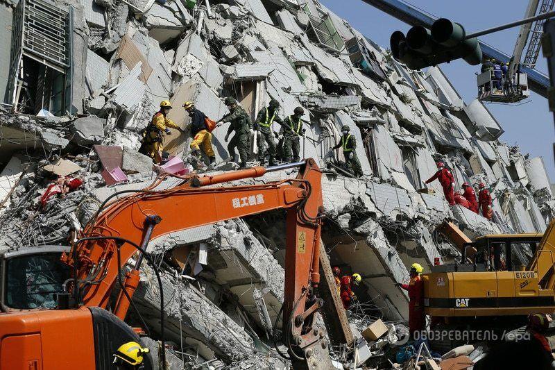 Потужний землетрус на Тайвані: кількість загиблих зросла