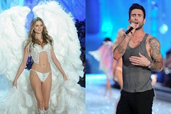 Модель Victoria's Secret и солист группы Maroon 5 ждут первенца