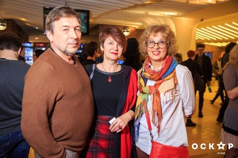 Осадчая, Завальская и Зибров пришли на фильм о лесбийской любви