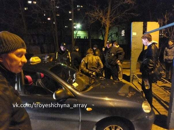 В Киеве полицейские устроили погоню за таксистом