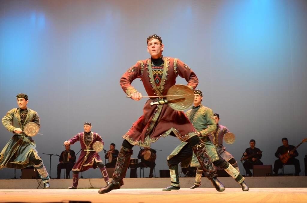 Балет Сухишвили в Киеве 2018: концерт грузинских танцев