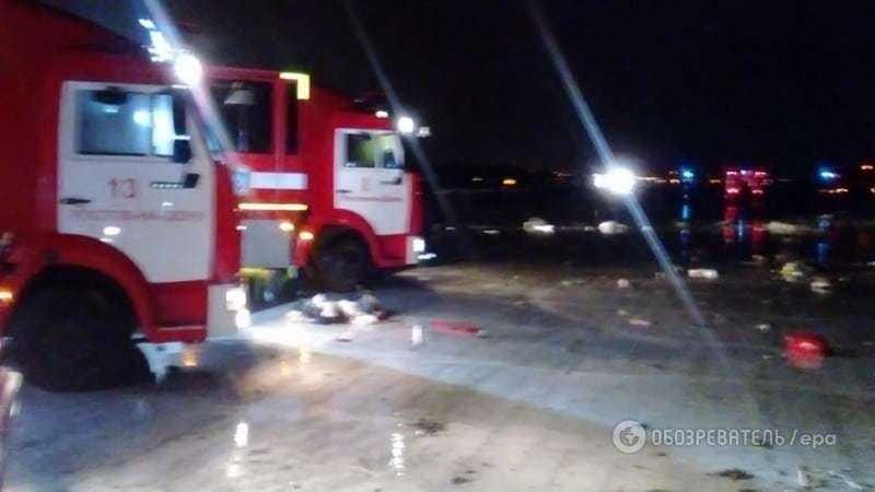 У Росії розбився пасажирський Boeing, десятки загиблих