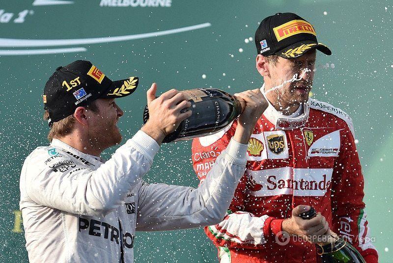 Неожиданная остановка гонки не позволила Ferrari добыть победу на Гран-при Австралии