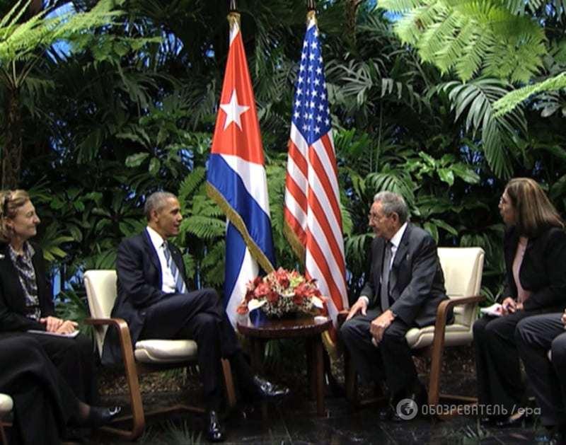 Спасибо, Америка! Кастро отреагировал на окончание блокады Кубы