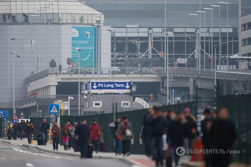 Серия терактов в Брюсселе: есть жертвы и раненые