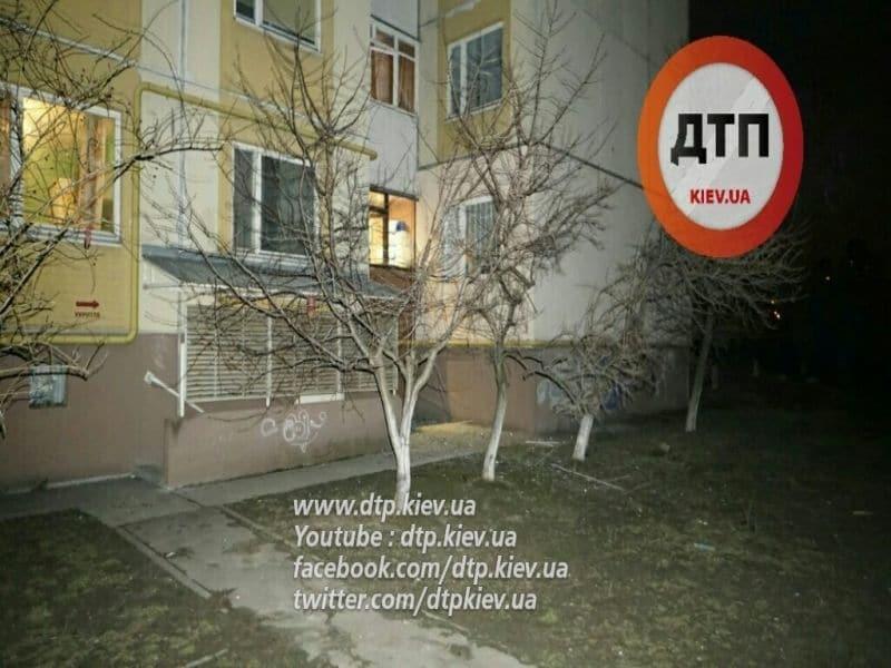 Ночью Киев потряс мощный взрыв