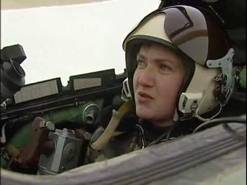 У Савченко знайшли двійника - льотчицю американських ВПС