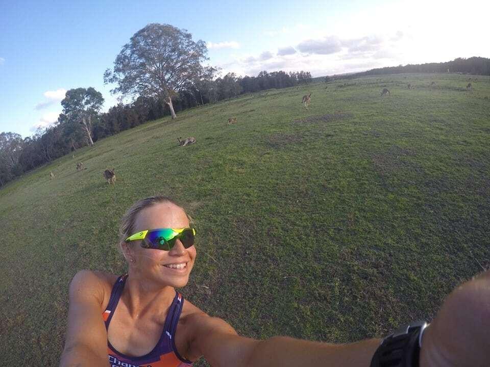 Знаменитая украинская чемпионка показала, как развлекается с кенгуру
