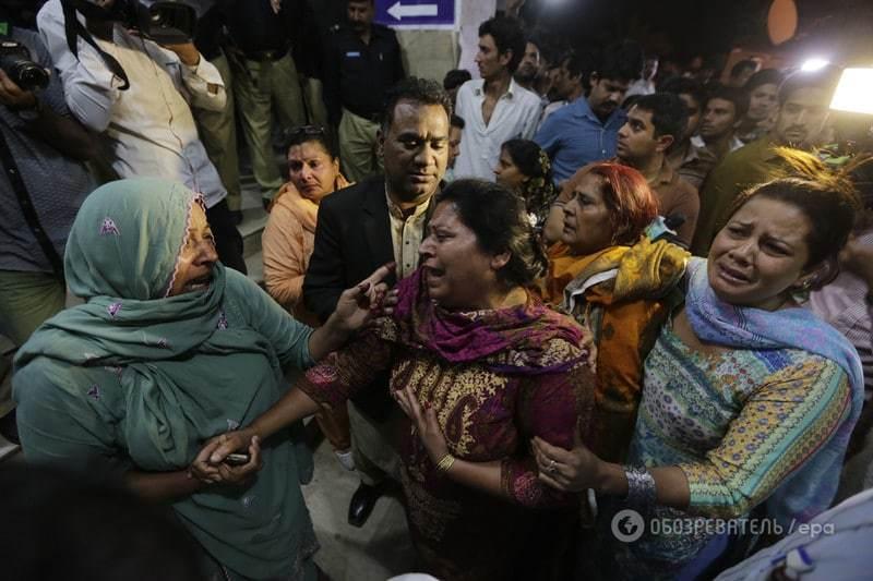 Теракт у Пакистані: зросла кількість жертв і поранених. Опубліковані фото і відео