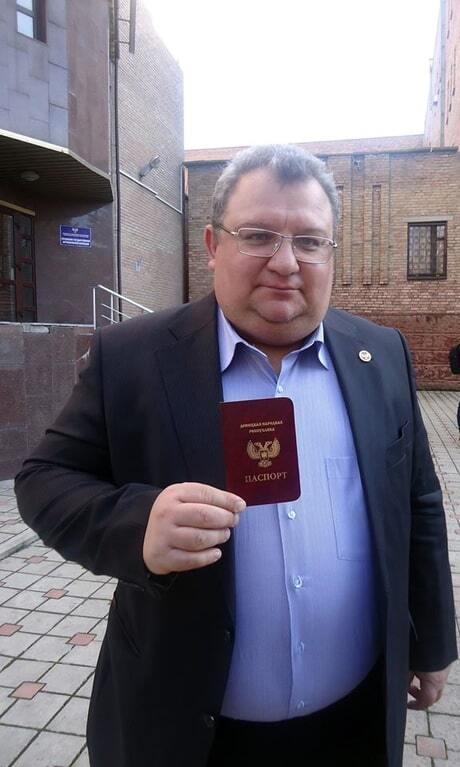 """Просто ідеально: фейковий мер Донецька розповів про поїздку в Росію з паспортом """"ДНР"""""""
