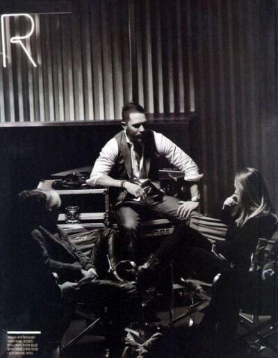 Брутальный Том Харди в черно-белой фотосессии для корейского журнала