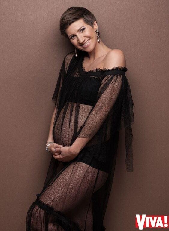 Беременная Анита Луценко снялась в стильных фотосессиях