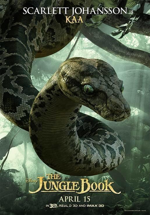 """В сети появились новые постеры фильма """"Книга джунглей"""""""