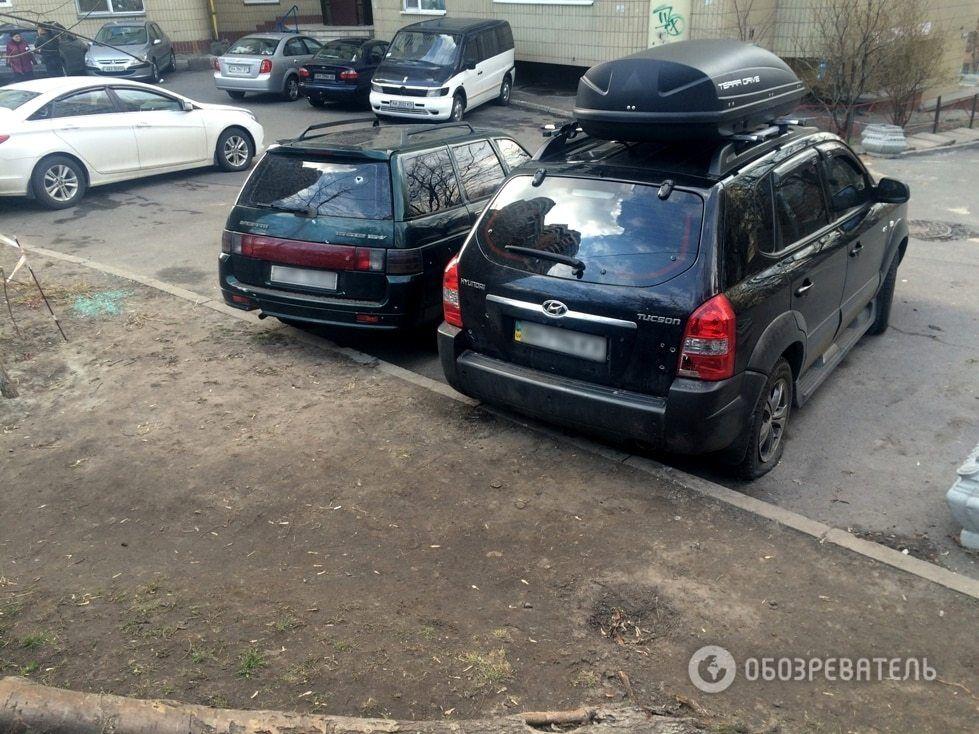 Появились фото и видео момента взрыва возле машины Парасюка