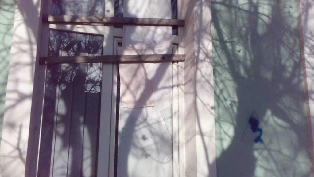 В оккупированном Симферополе напали на здание Меджлиса