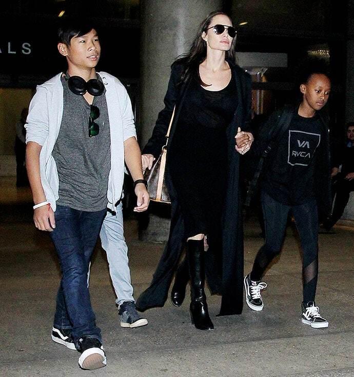 Анджеліна Джолі вирушила до Бреда Пітта в Лондон