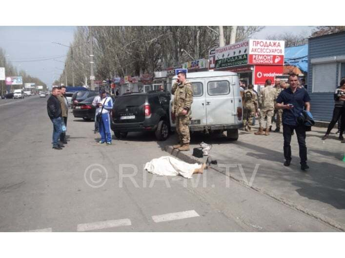 В Мелитополе армейский УАЗ сбил двух женщин, одна погибла